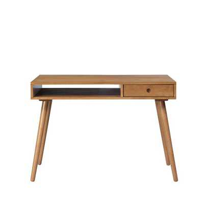 Munguia Solid Wood Desk - Wayfair