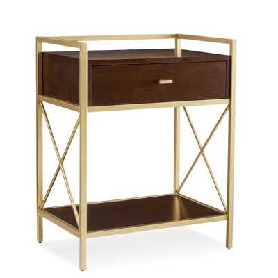 Emmeloord Metal 1 Drawer Nightstand - Wayfair