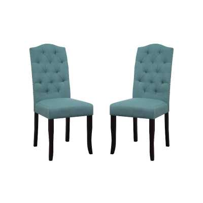 Murray Upholstered Dining Chair (set of 2) - Wayfair