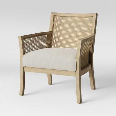 Laconia Caned Accent Chair Beige - Threshold - Target