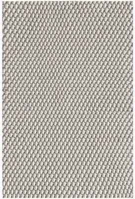 TWO-TONE ROPE PLATINUM/IVORY INDOOR/OUTDOOR RUG, 10'x14' - Dash and Albert