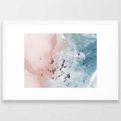 sea bliss Framed Art Print by Ingz - Society6