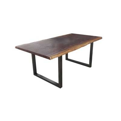 Lemay Acacia Solid Wood Dining Table - Wayfair