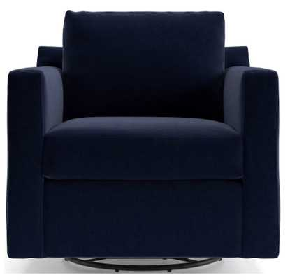 Barrett Track Arm Swivel Chair - Crate and Barrel