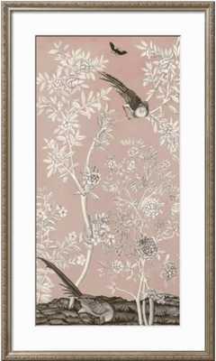 Blush Chinoiserie II - Parma Champagne Frame - art.com