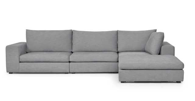 GABA Gull Gray Modular Sectional - Article