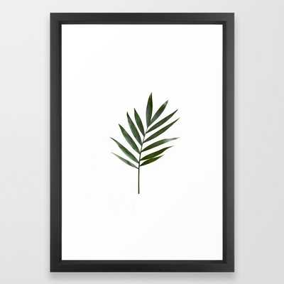Plant Leaves Framed Art Print - Society6