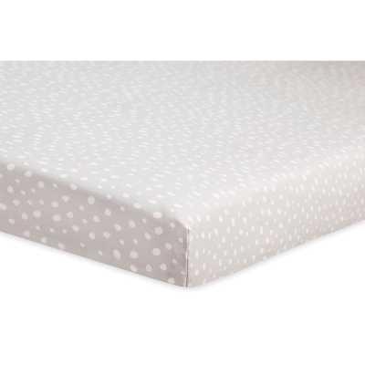 Tuxedo Dot Mini Fitted Crib Sheet - Wayfair