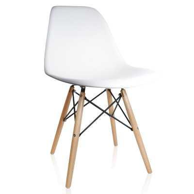 Whiteaker Molded Plastic Dining Chair - Wayfair
