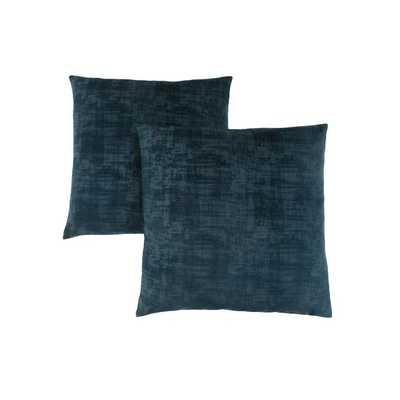 Cronk Throw Pillow, Set of 2, Blue - Wayfair