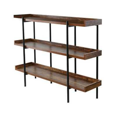 Calona Modern Etagere Bookcase - Wayfair