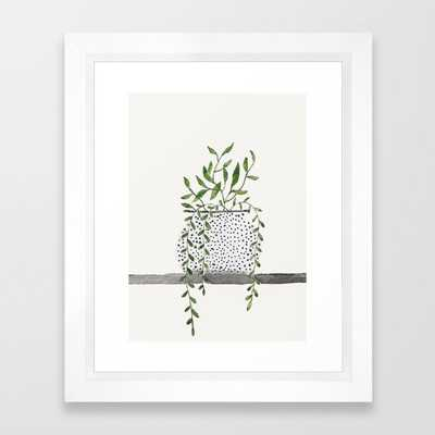 Vase 2 Framed Art Print - Society6