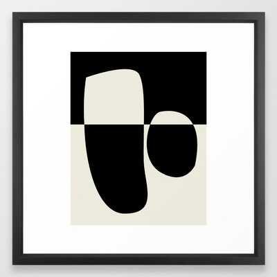 // Reverse 02 Framed Art Print 22x22 - Society6