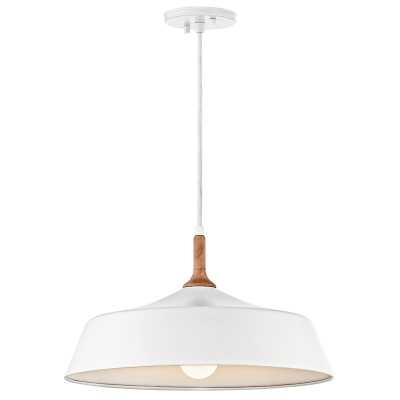 Evelyn 1-Light Dome Pendant - Wayfair