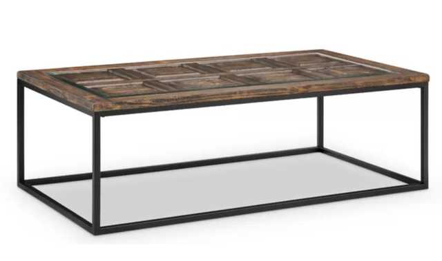 Ajit Rectangular Coffee Table - Wayfair