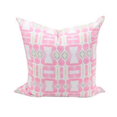 Pink Sunstone Pillows - bunglo