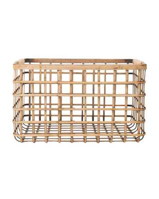 BAMBOO RIVER BASKET, LARGE - McGee & Co.