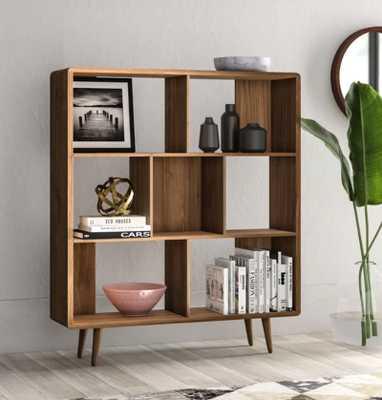 Chapple Geometric Bookcase - Wayfair