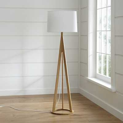 Jackson Natural Tripod Floor Lamp - Crate and Barrel