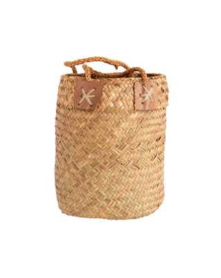WOVEN SEAGRASS BASKET - SMALL - McGee & Co.