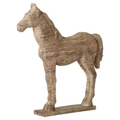 Wesley Horse Table Decor Statue - Birch Lane
