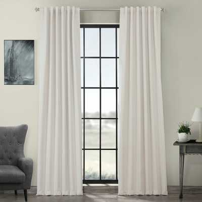 Cairo Solid Color Room Darkening Rod Pocket Curtain Panels (Set of 2) - Wayfair