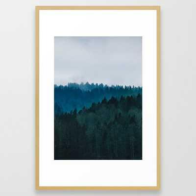forest Framed Art Print - Society6