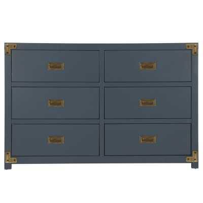 Agostino 6 Drawer Double Dresser - Wayfair