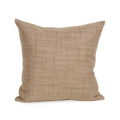 Abraham Texture Coco Soft Burlap Throw Pillow - Wayfair