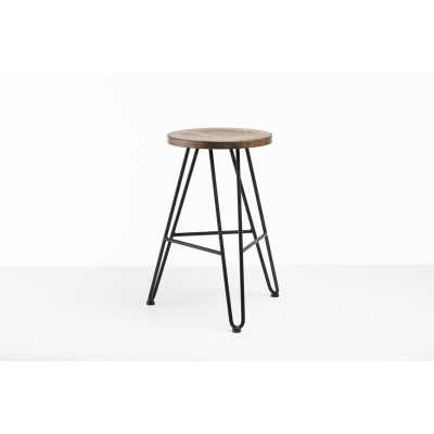 Tokarz Solid Wood Bar & Counter Stool - Wayfair