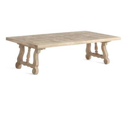Lyre Coffee Table - Wisteria
