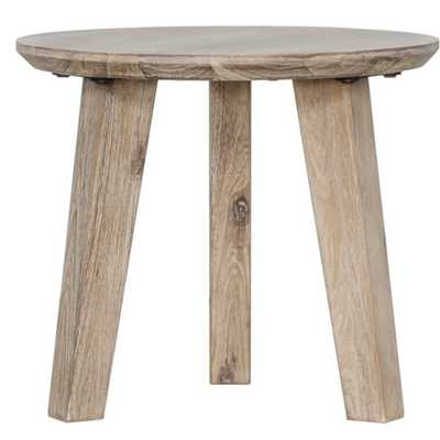 Cummings Solid Wood 3 Legs End Table - Wayfair