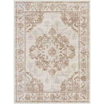 "Adley Rug, 7'10""x 10', Tan - Cove Goods"