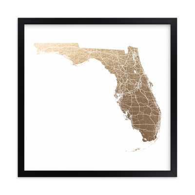 florida map filled - Minted