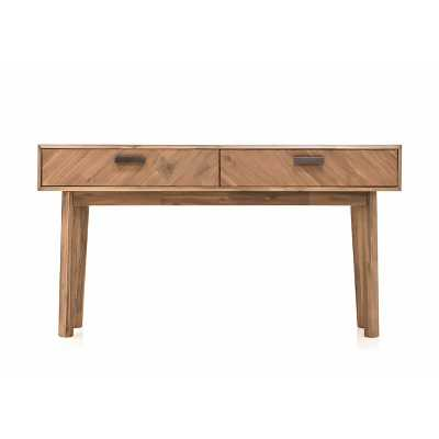"KENSINGTON 59"" SOLID WOOD CONSOLE TABLE - Perigold"