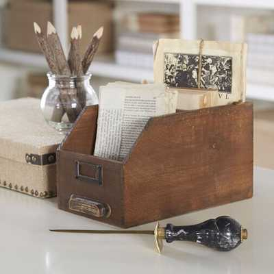 Card Catalog Keepsake Box - Wayfair