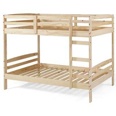 Plumerville Twin over Twin Bunk Bed - Unfinished - Wayfair