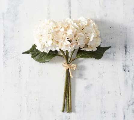 Lace Hydrangea Bundle - Ivory - Pottery Barn