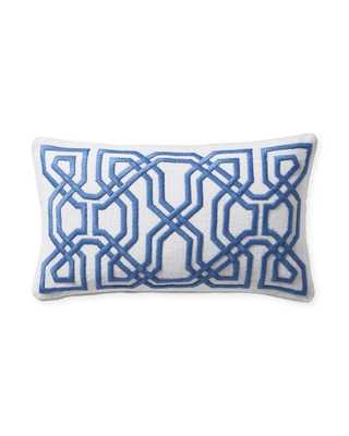 Jetty Pillow Cover - Harbor - Insert sold separately - Serena and Lily