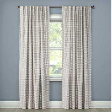 Honeycomb Woven Curtain Panels - Threshold™ - Target