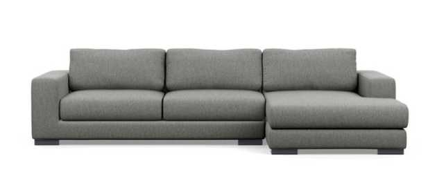 HENRY Sectional Sofa with Right Chaise - Interior Define