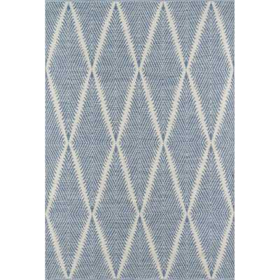 River Beacon Hand-Woven Denim Indoor/Outdoor Area Rug - Wayfair