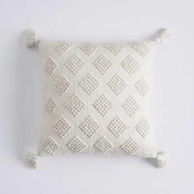 "Diamond Loop Pillow Cover 18"" x 18"" - Pottery Barn Teen"