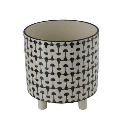 Renita Stoneware Pot Planter - Wayfair