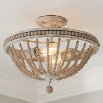 MYSTIC SAND SEMI-FLUSH CEILING LIGHT - Shades of Light