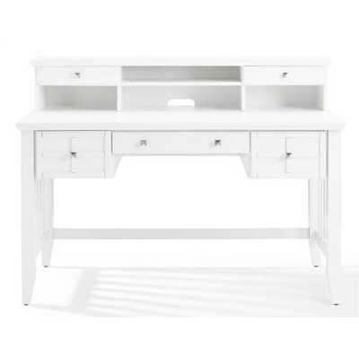 Lexie Secretary Desk with Hutch - Birch Lane