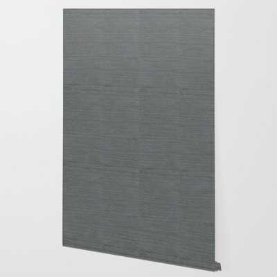 Pewter Sisal Wallpaper Wallpaper, 2' x 10' - Society6