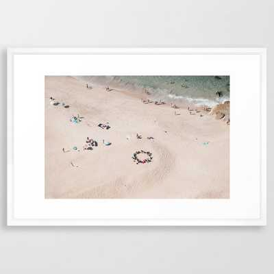 beach - circle of friends - Society6