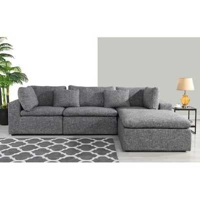 Vernet Modular Sectional - Light Gray - Wayfair