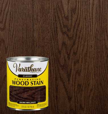 1 qt. Dark Walnut Classic Wood Interior Stain - Home Depot
